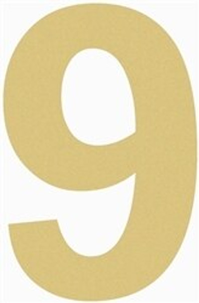 Unfinished Wooden Rockwell Numbers Paintable Cutout-9