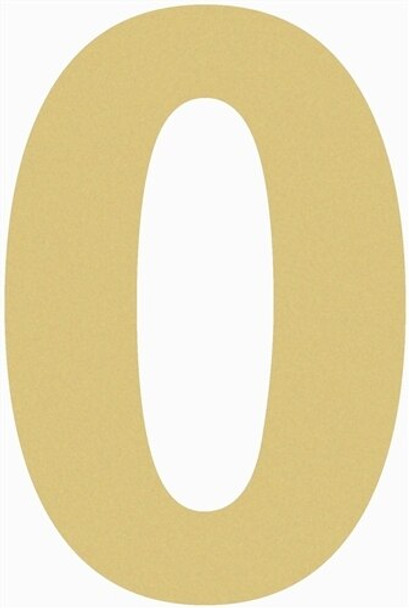 Unfinished Wooden Rockwell Numbers Paintable Cutout-0
