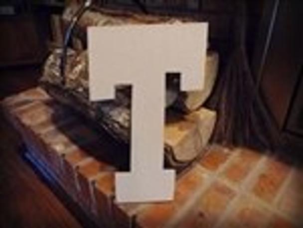 Unfinished MDF Wood Letters Alphabet-T