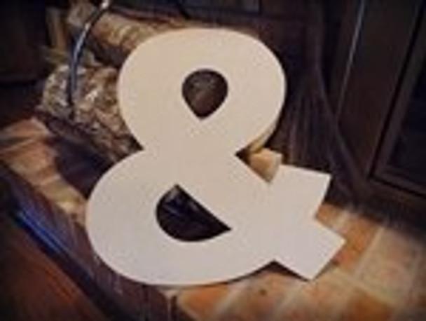 Unfinished MDF Wood Letters Alphabet-&