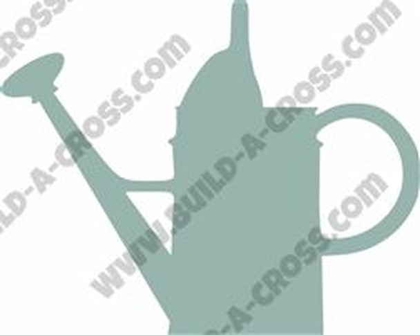 Water Can Unfinished Cutout, Wooden Shape, MDF DIY Craft