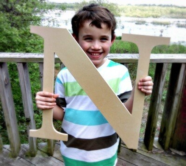 Wooden Letter Decals for Wood-N