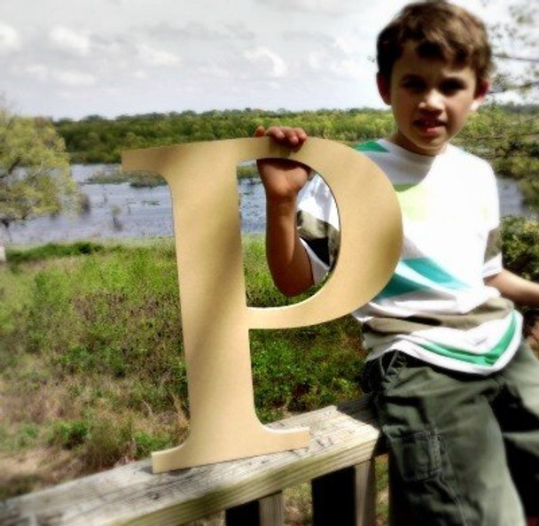 Wooden Letter Decals for Wood-P