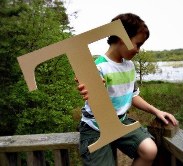 Wooden Letter Decals for Wood-T