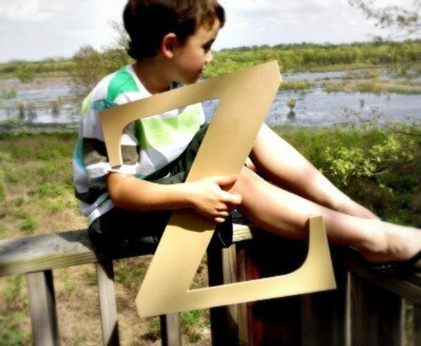 Wooden Letter Decals for Wood-Z