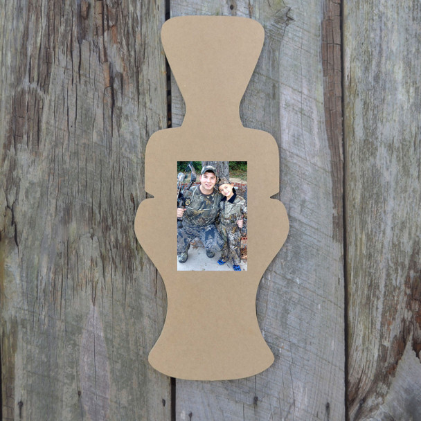 Unfinished Duck Call Picture Frame