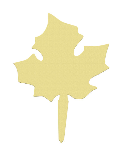 Unfinished outdoor DIY wooden yard art pattern fall leaf sign