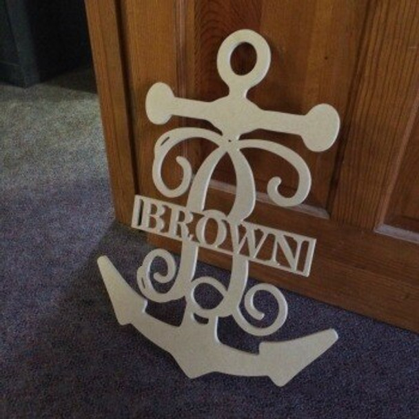 Anchor Frame Family Name