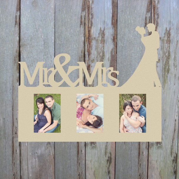 Wedding Photo Picture Frame Unfinished, DIY