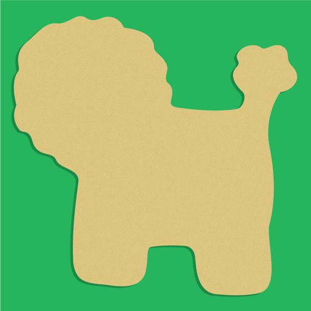 Lion Children Style Unfinished Cutout, Wooden Shape, Paintable Wood