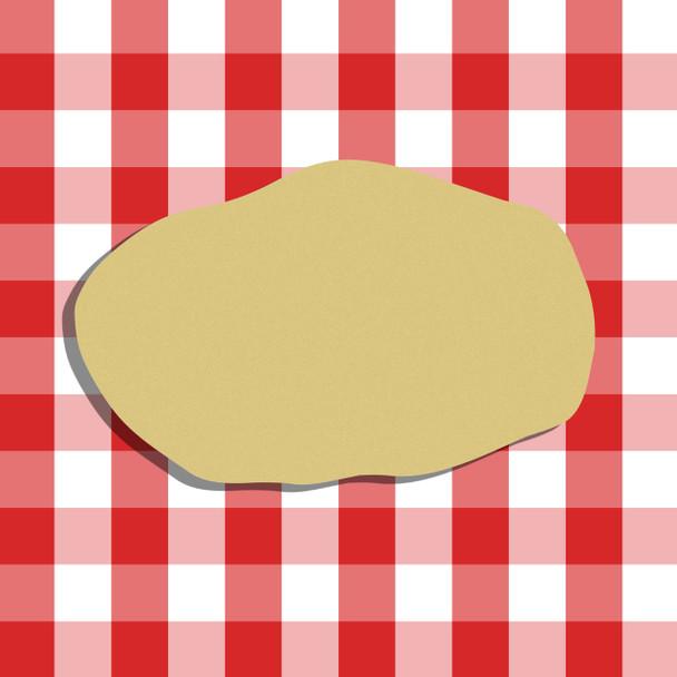 Potato Unfinished Cutout, Wooden Shape, Paintable Wooden MDF