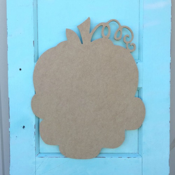 Pumpkin Patch Family Unfinished Cutout, Wooden Shape,  DIY Craft