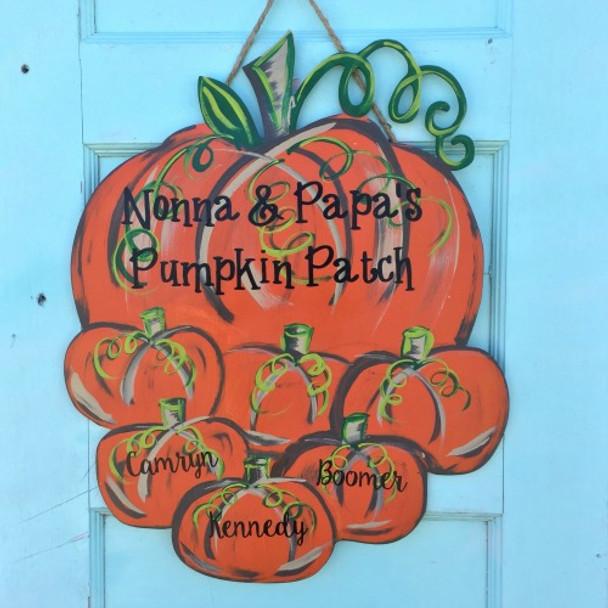 Pumpkin Patch Family Cutout Blog