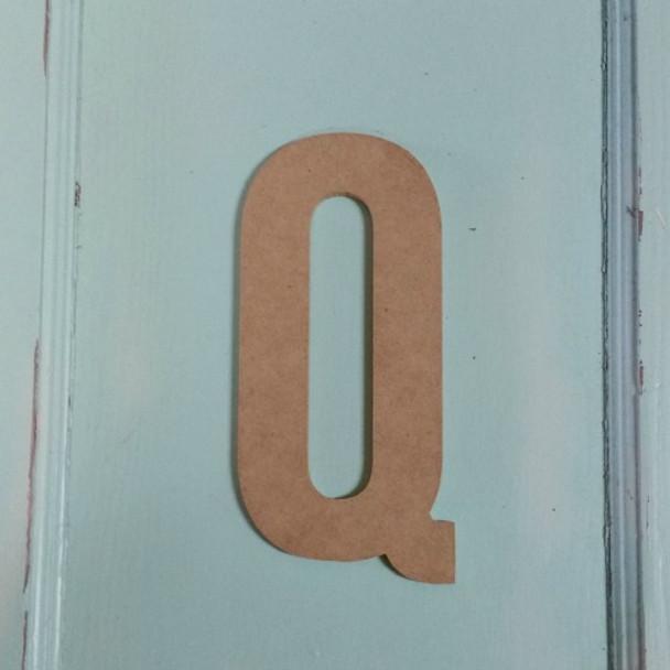 Unfinished Wooden Alphabet Letter Wall Decor Bebas Neue Unpainted