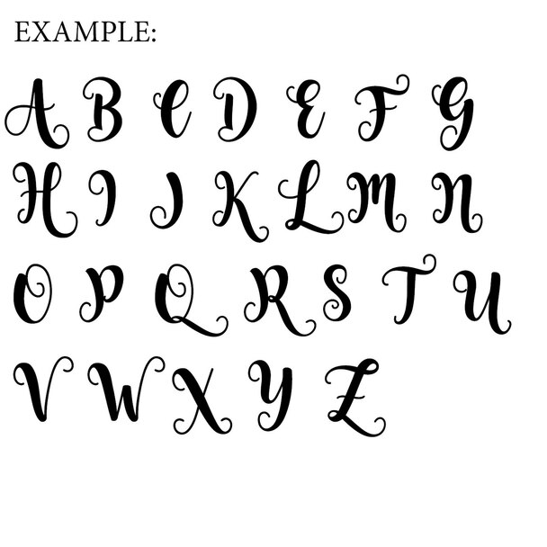 Unfinished Wooden Unpainted Alphabet Decor Starfish