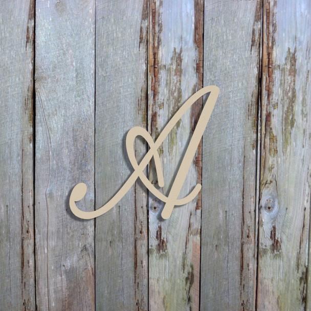 Unfinished Wooden Alphabet Letter Wall Decor Fameliya Paintable Letter