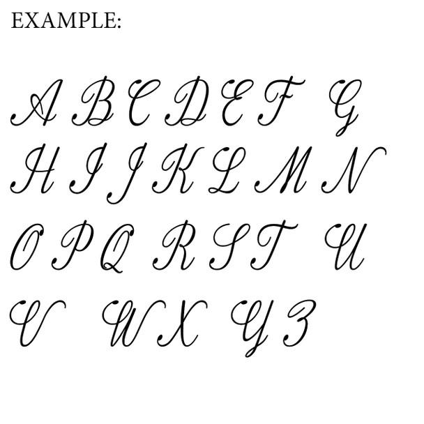 Unfinished Wooden Alphabet Letter Wall Decor Fameliya Paint-able Letter