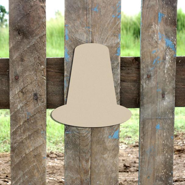 Pilgrim Hat Cutout Paintable DIY