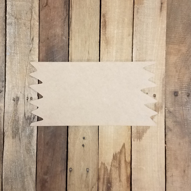Unfinished Wooden Connolly Driftwood Plaque Paint-able Craft Shape