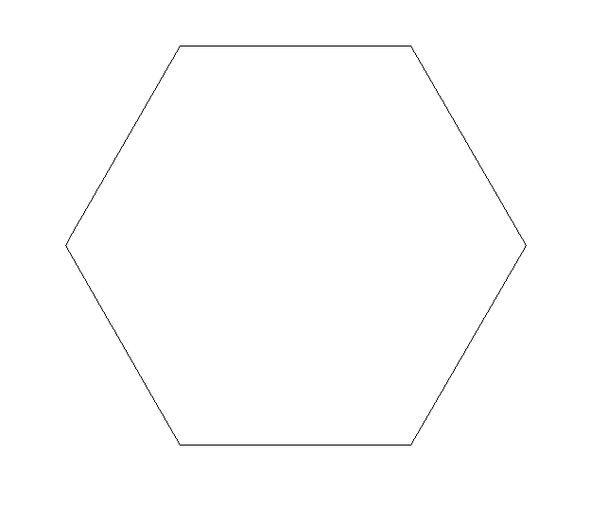 Hexagon Unfinished