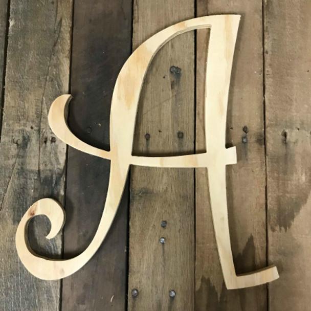Pine Letters, Nursery Letters, Wooden Curlz Font