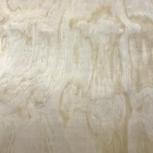 Wooden Pine Shape, Double Flipflop, Unpainted Wood Cutout Craft