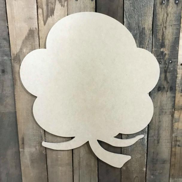 Fat Cotton, Unfinished Wood Shape, Fall Cutout