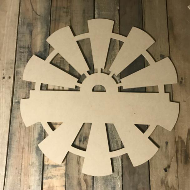 Whole Windmill, Frame Unfinished Cutout MDF