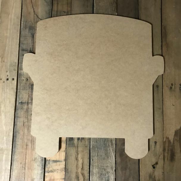RV, Craft Unfinished Wood Shape, Wood Cutout