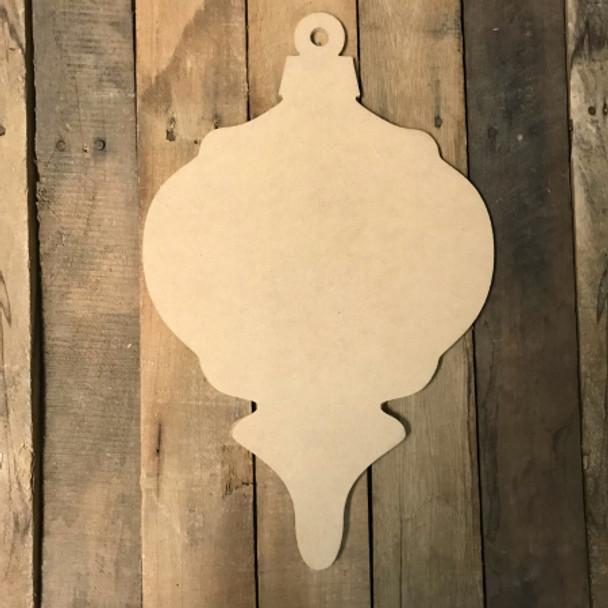 Wood Christmas Ornament, Craft Wood Shape