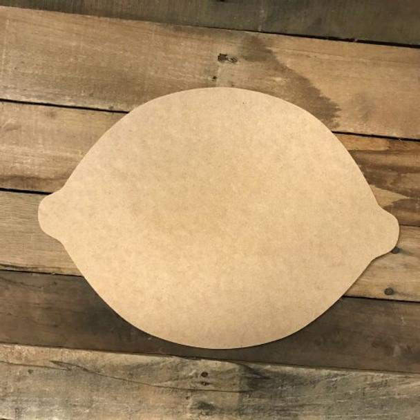 Wooden Lemon Cutout