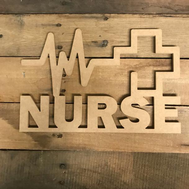 Nurse Word, Alphabet Paintable DIY