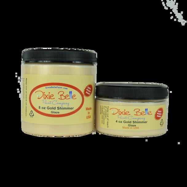 Gold Shimmer Glaze, Dixie Belle