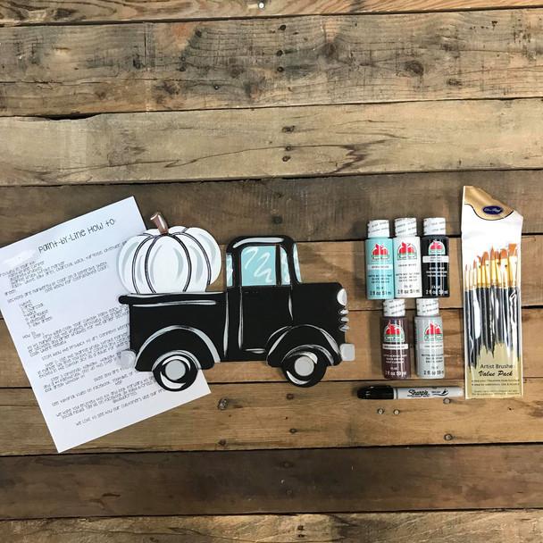 Pumpkin Truck Paint Kit, Video Tutorial and Instructions