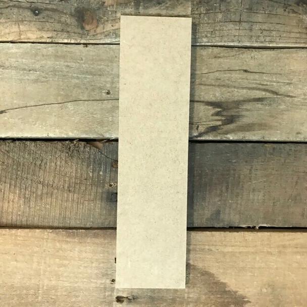 Wooden Letter Block Font Unfinished DIY Wall Decor-I