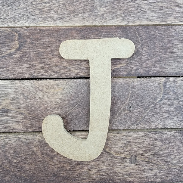 Wooden Letters Unfinished MDF, Comic Font, Paint-able DIY Craft