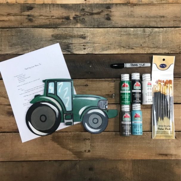 Tractor Paint Kit, Video Tutorial and Instructions