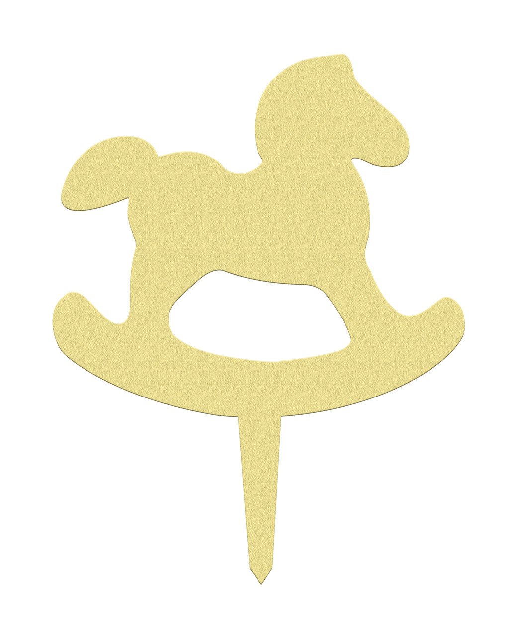 Unfinished Outdoor Diy Wooden Yard Art Pattern Rocking Horse Sign Build A Cross Com