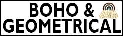 Boho and Geometric Art