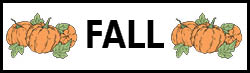 Fall Shapes
