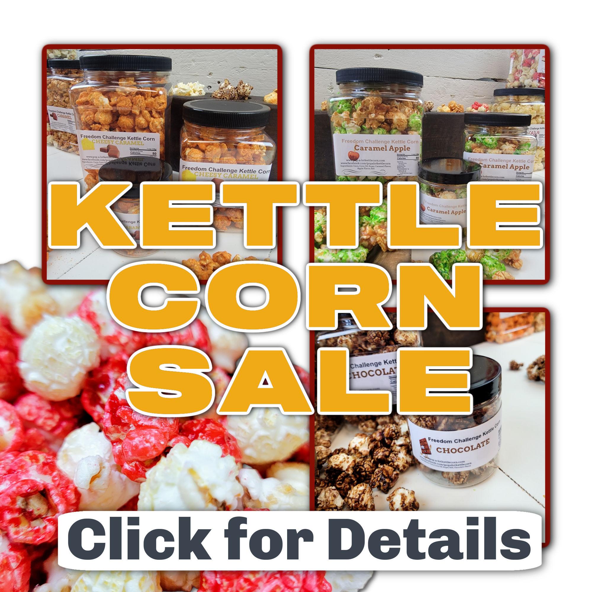 Kettle Corn Sale