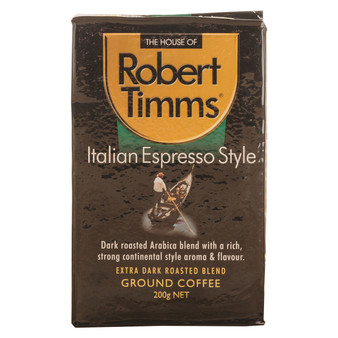 Italian Espresso Ground Coffee 200g
