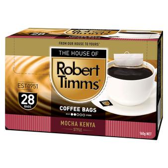 Mocha Kenya Coffee Bags 28s