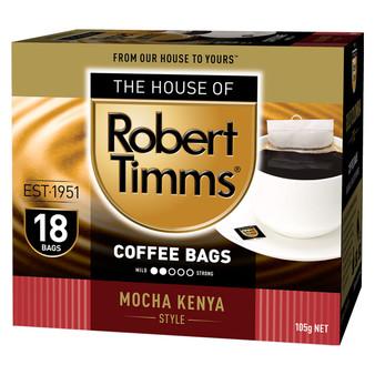Mocha Kenya Coffee Bags 18s