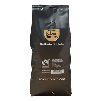 Fairtrade Roasted Coffee Beans 1000g