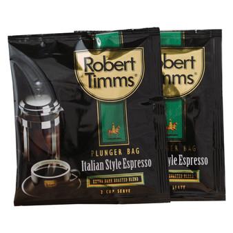 Italian Espresso Coffee Plunger Bags 50s