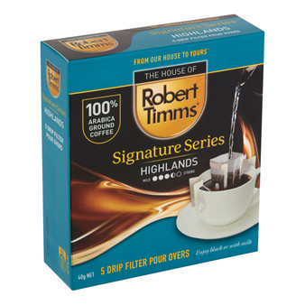 Highlands Signature Series Drip Filter Pour Over Coffee