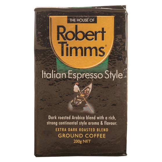 Italian Espresso Ground Coffee 200g