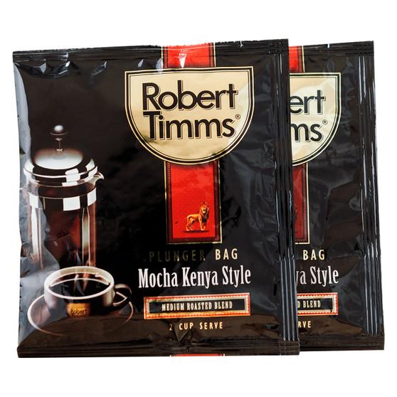 Mocha Kenya Coffee Plunger Bags 50s