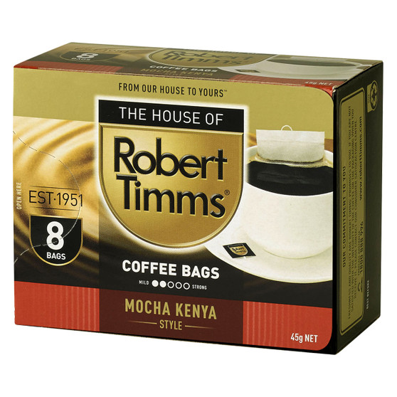 Mocha Kenya Coffee Bags 8s
